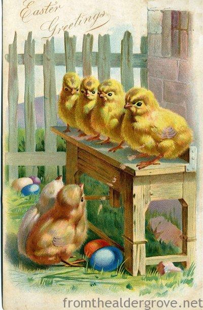 1905 Vintage Easter Postcard