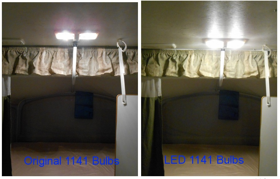 Popup Camper Mod – LED Interior Lighting