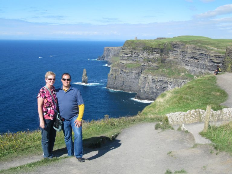 The Cliffs of Moher - photo taken on our trip to Ireland 2013