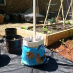Garden Stuff – Feed Bag Planter