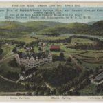 Aeroplane View of Borden-Wheeler Springs Hotel and Summer Cottage Colony, Borden Springs, Ala