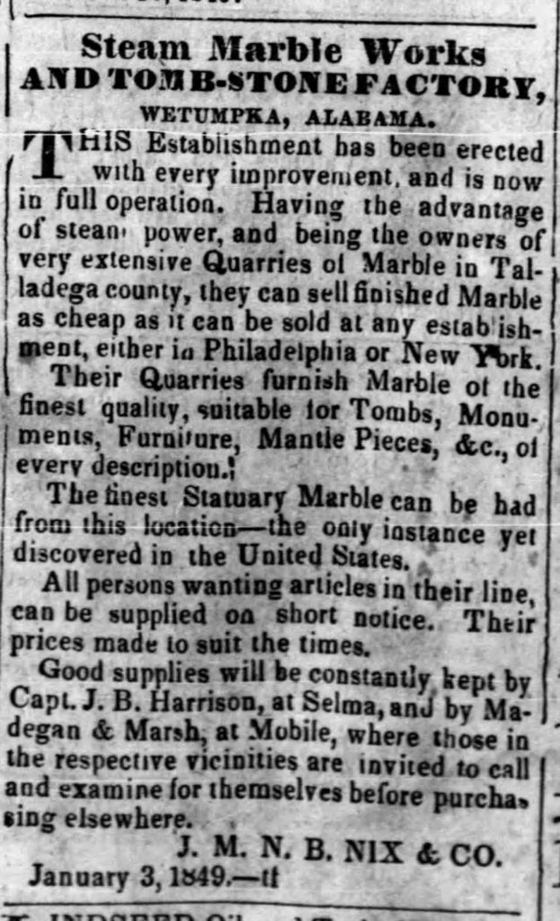 Daily State Guard Tue Dec 4, 1849 - Wetumpka Alabama