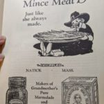 Old Advertisements - Grandmother's Mince Meat