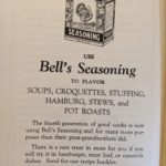 Old Advertisements - Bell's Seasoning