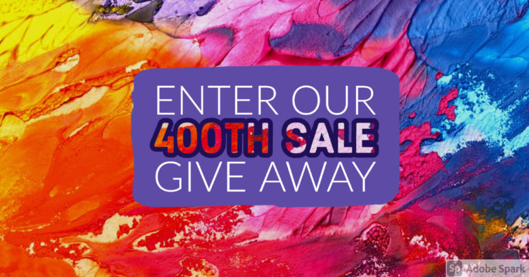 Giveaway to Celebrate 400 Etsy Sales